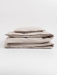 ADULT BEDDING - BEIGE PIN - sengesæt - beige pin