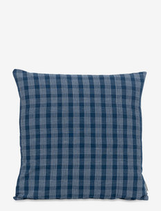 CUSHION - coussins - blue grid