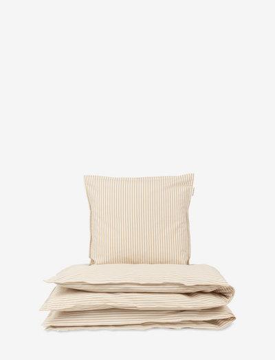 Baby Bedding - bed sets - classic stripe oak