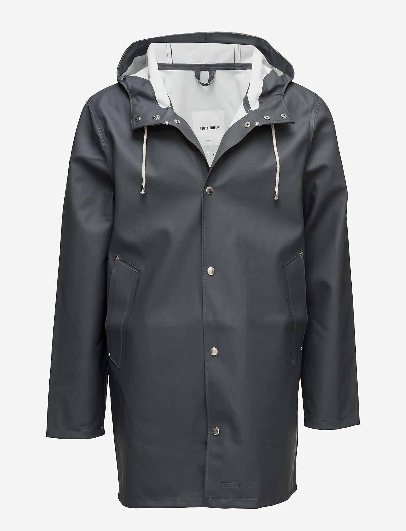Stutterheim - Stockholm - rainwear - charcoal - 1