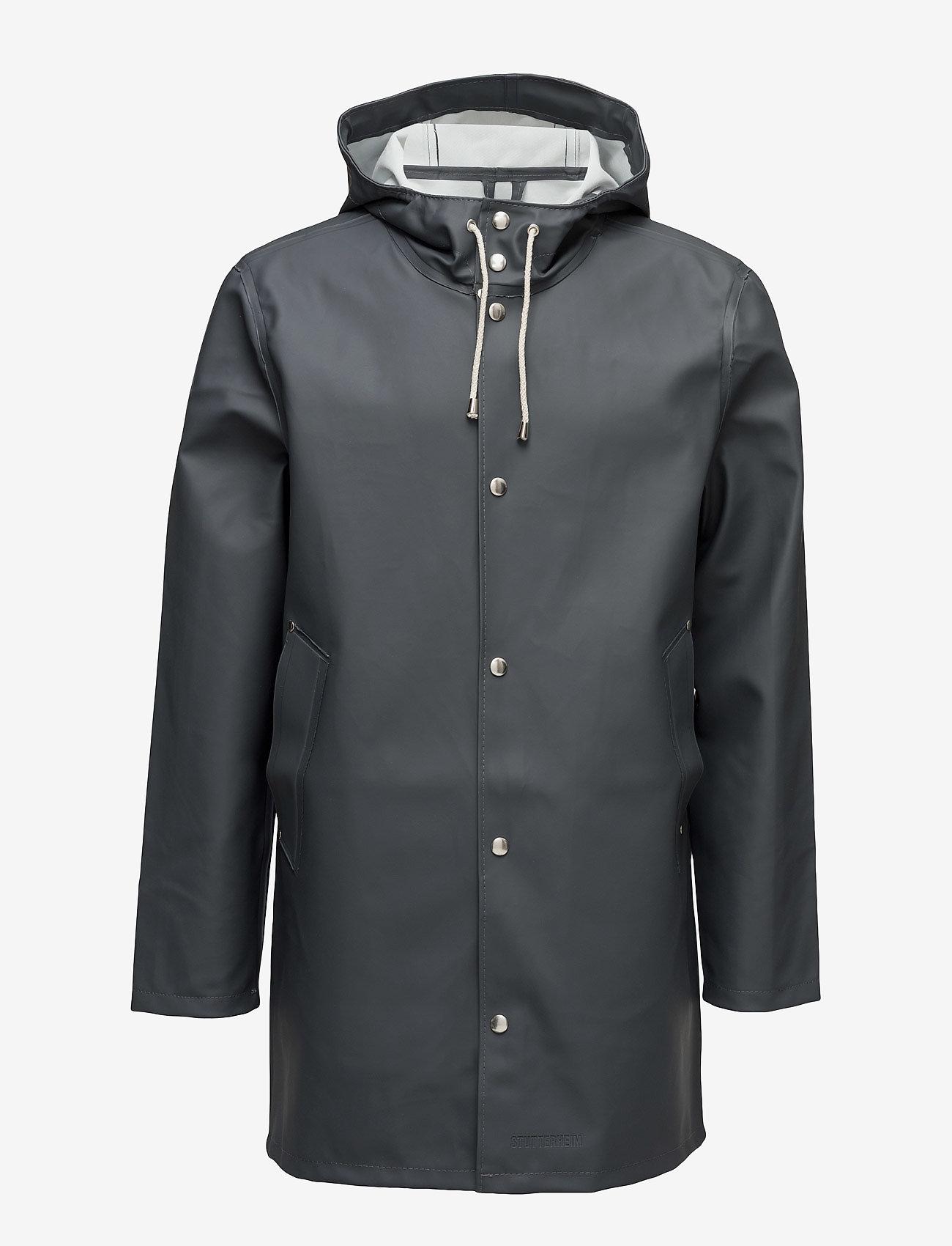 Stutterheim - Stockholm - manteaux de pluie - charcoal - 1