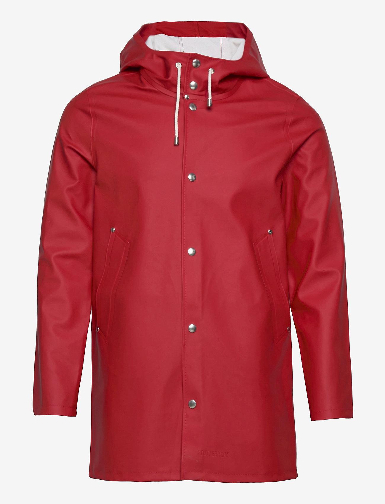 Stutterheim - Stockholm - manteaux de pluie - red - 0