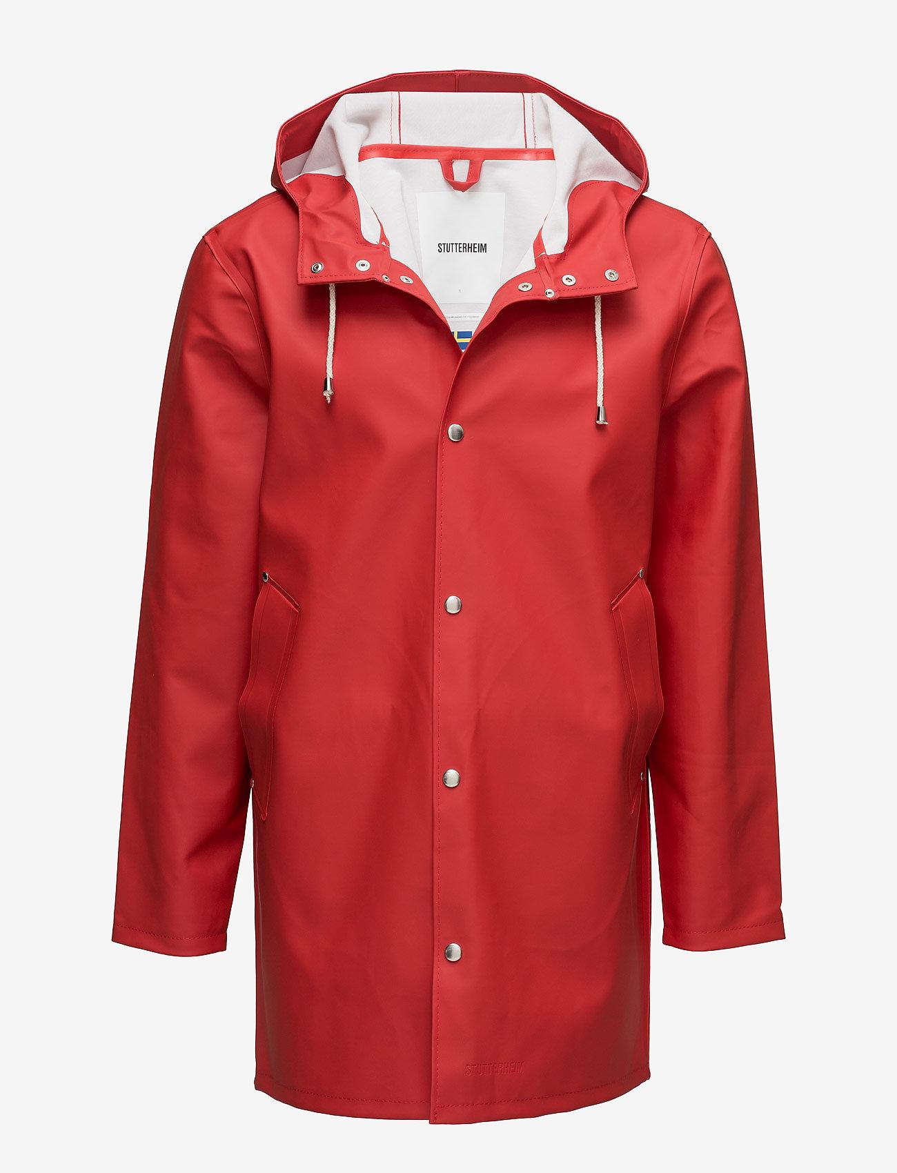 Stutterheim - Stockholm - jakker og frakker - red - 0