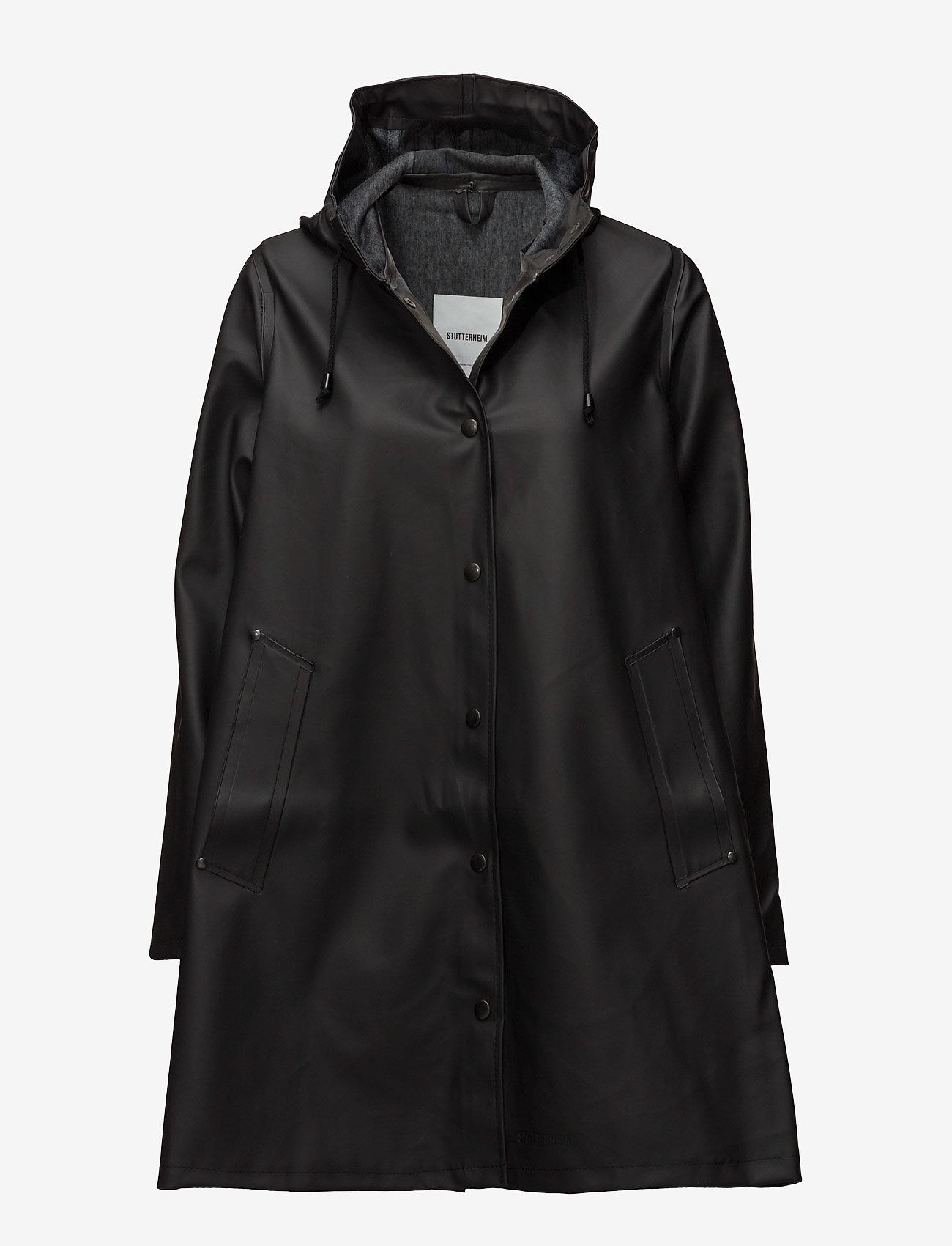 Stutterheim - Mosebacke - rainwear - black - 1