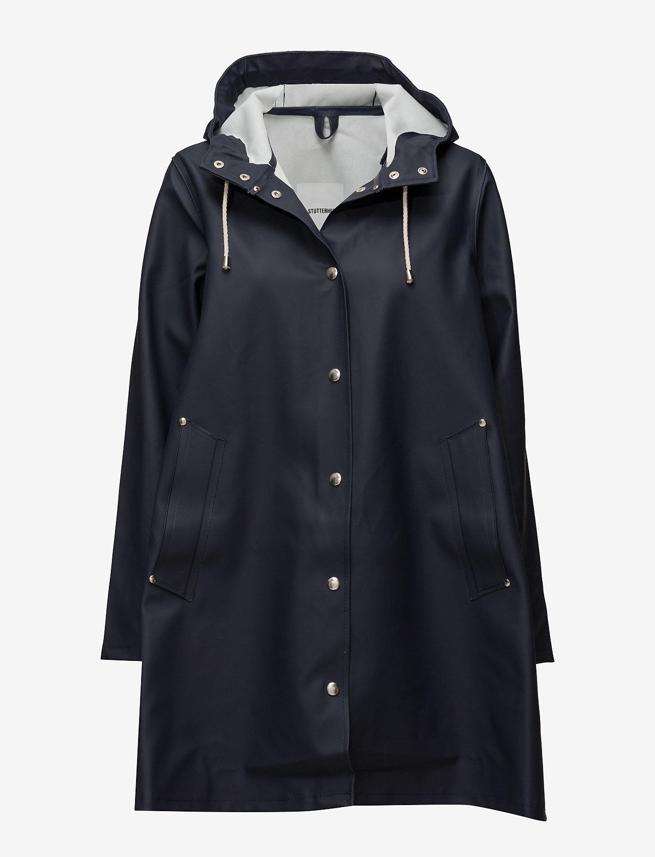 Stutterheim - Mosebacke - rainwear - navy - 1