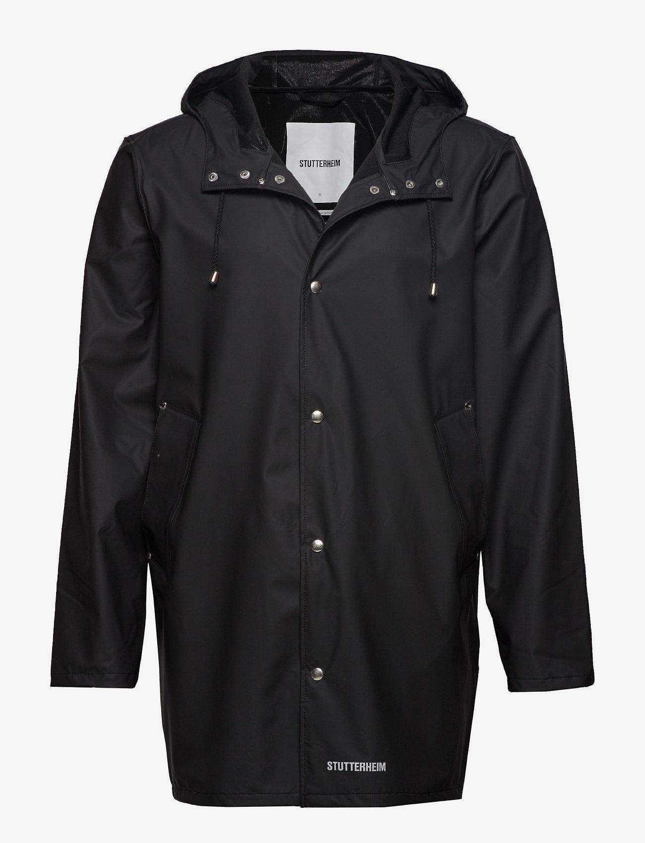 Stutterheim - Stockholm LW - rainwear - black - 1