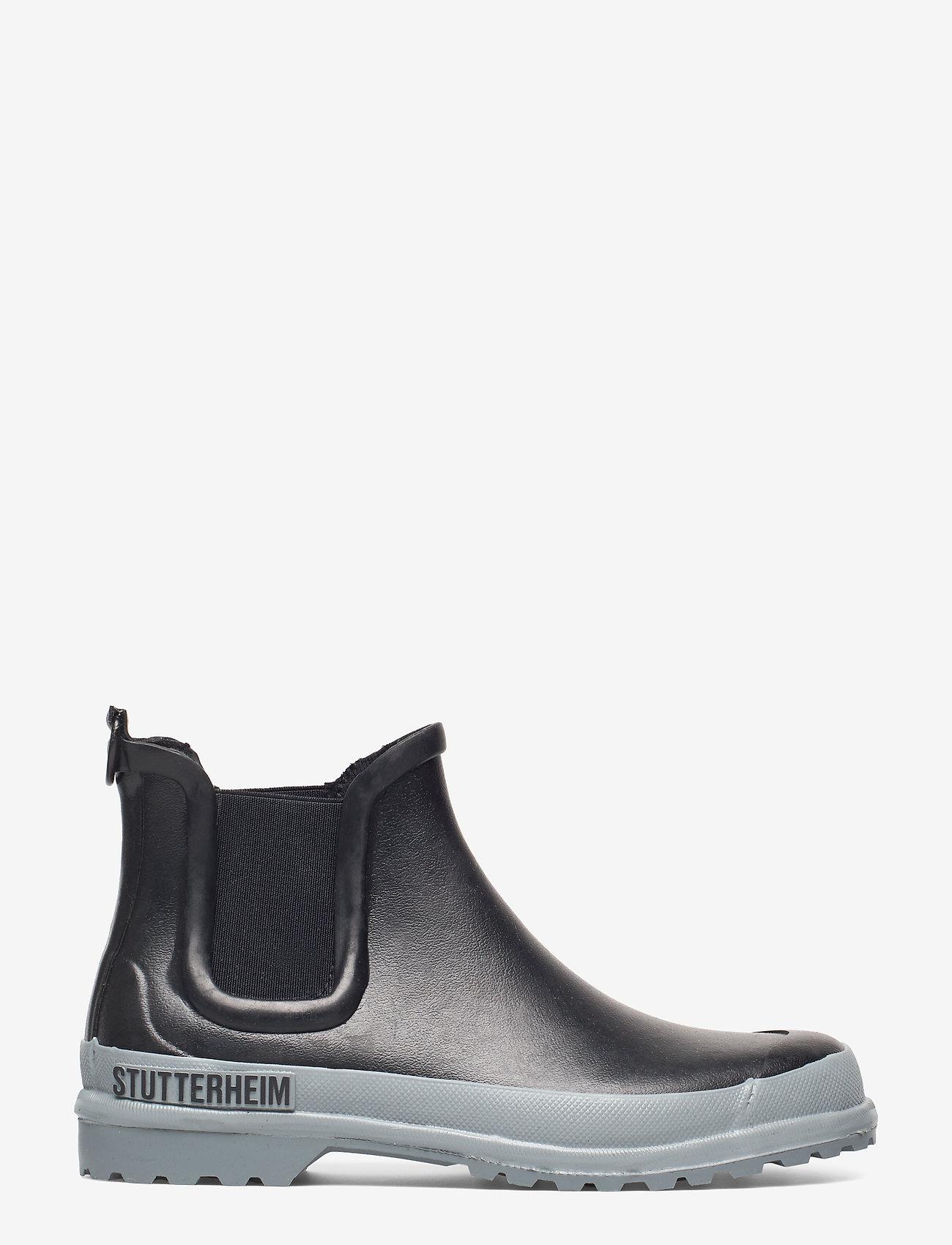 Stutterheim - Chelsea Rainwalker - chelsea boots - black/grey - 1