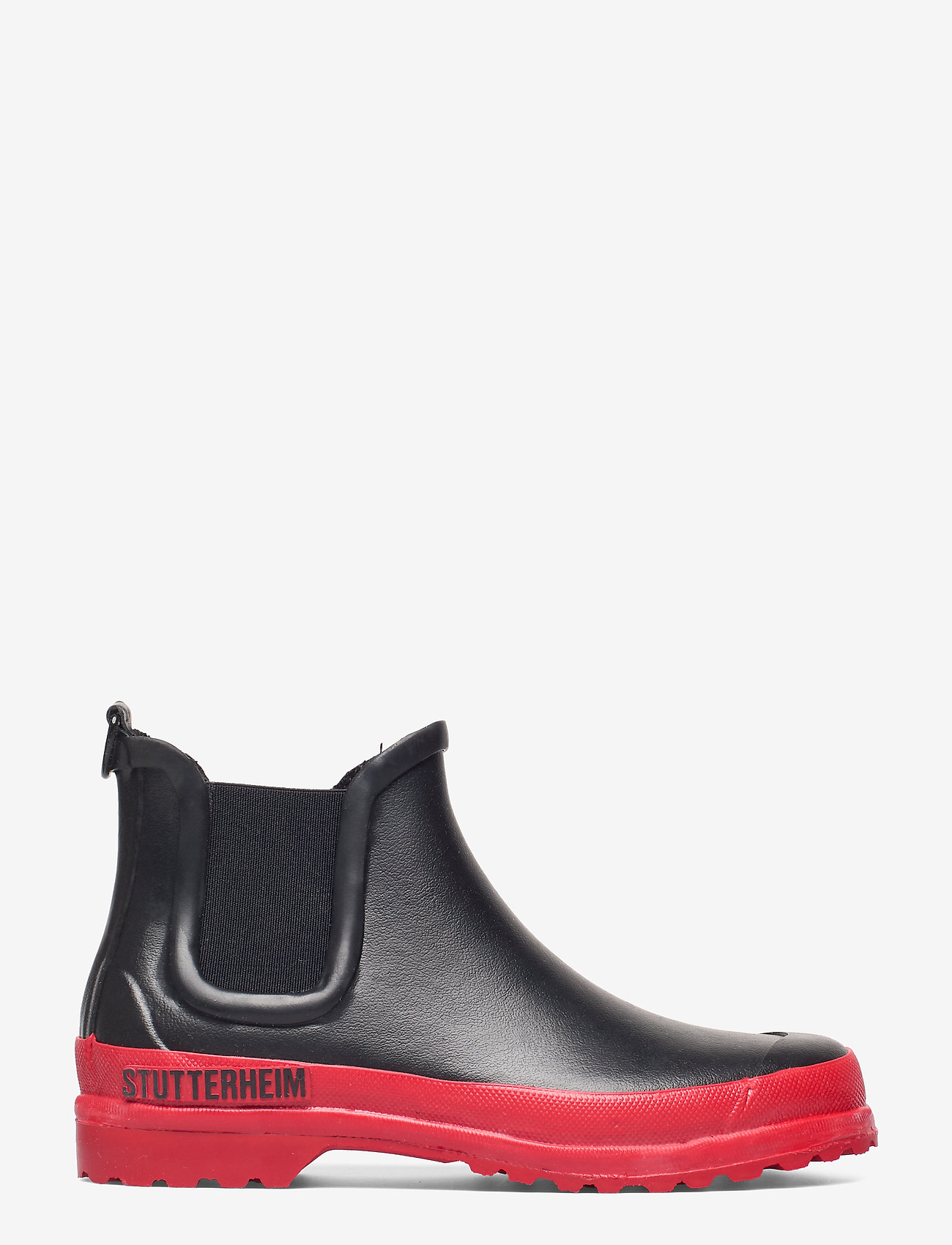 Stutterheim - Chelsea Rainwalker - chelsea boots - black/red - 1