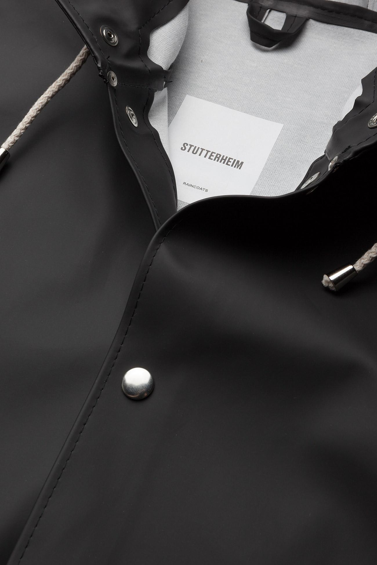 Stutterheim Stockholm - Jakker og kåper BLACK - Dameklær Spesialtilbud