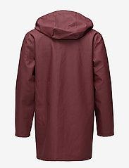 Stutterheim - Stockholm - rainwear - burgundy - 2