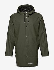 Stutterheim - Stockholm LW - rainwear - green - 5