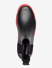 Stutterheim - Chelsea Rainwalker - chelsea boots - black/red - 3