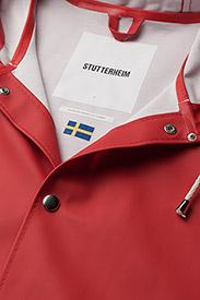 Stutterheim - Stockholm - rainwear - red - 3