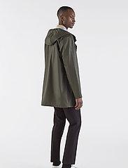 Stutterheim - Stockholm LW - rainwear - green - 4