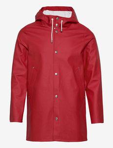 Stockholm - manteaux de pluie - red
