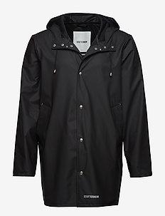 Stockholm LW - płaszcze przeciwdeszczowe - black