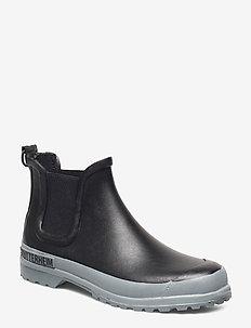 Chelsea Rainwalker - chelsea boots - black/grey