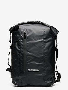 Rain Rolltop - backpacks - black