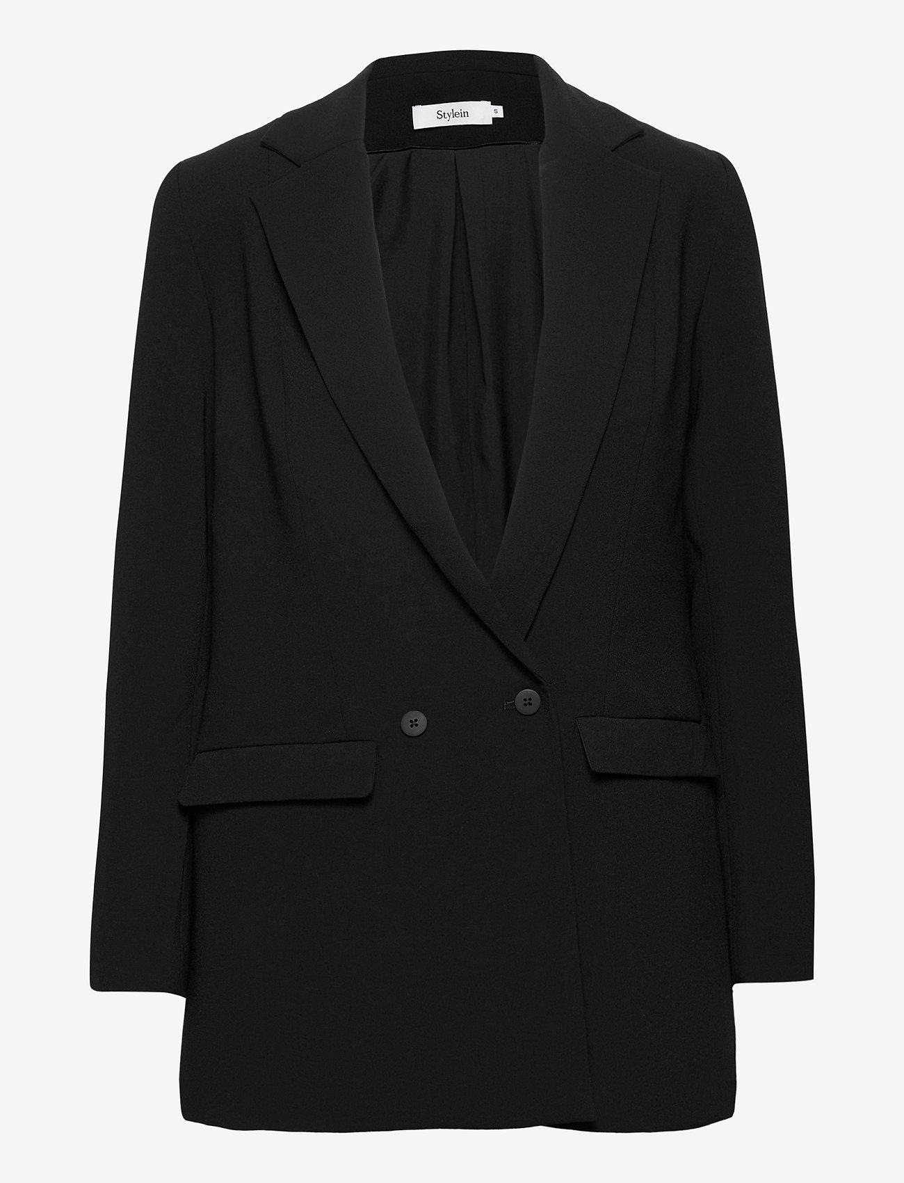 Stylein - BENITO JACKET - oversized blazers - black - 0