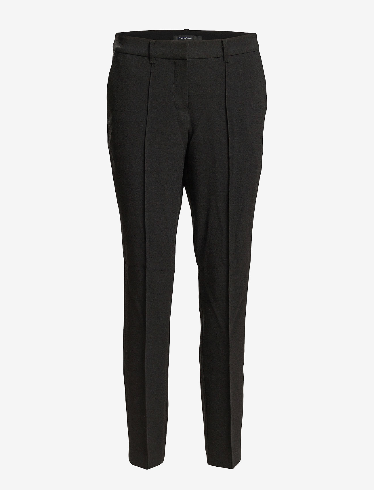 Stylein - BLEECKER - bikses ar taisnām starām - black - 0