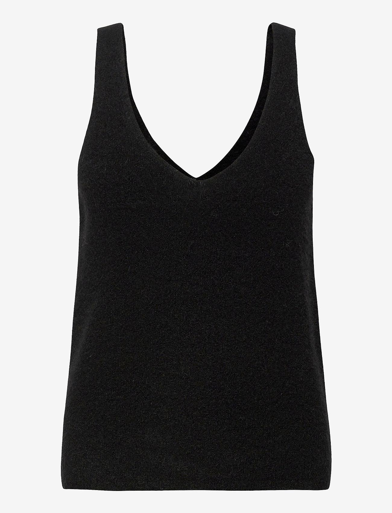 Stylein - ETOILE TOP - gebreide t-shirts - black - 0