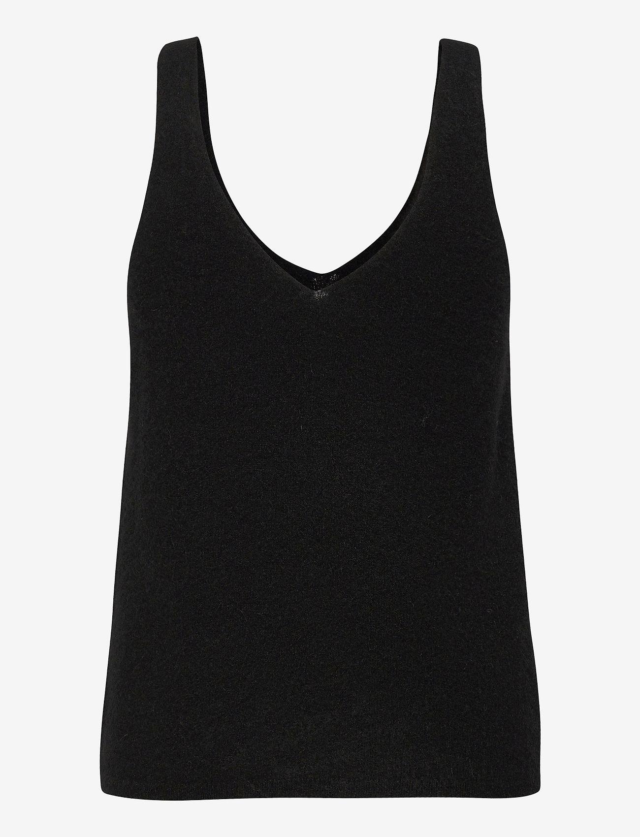 Stylein - ETOILE TOP - gebreide t-shirts - black - 1