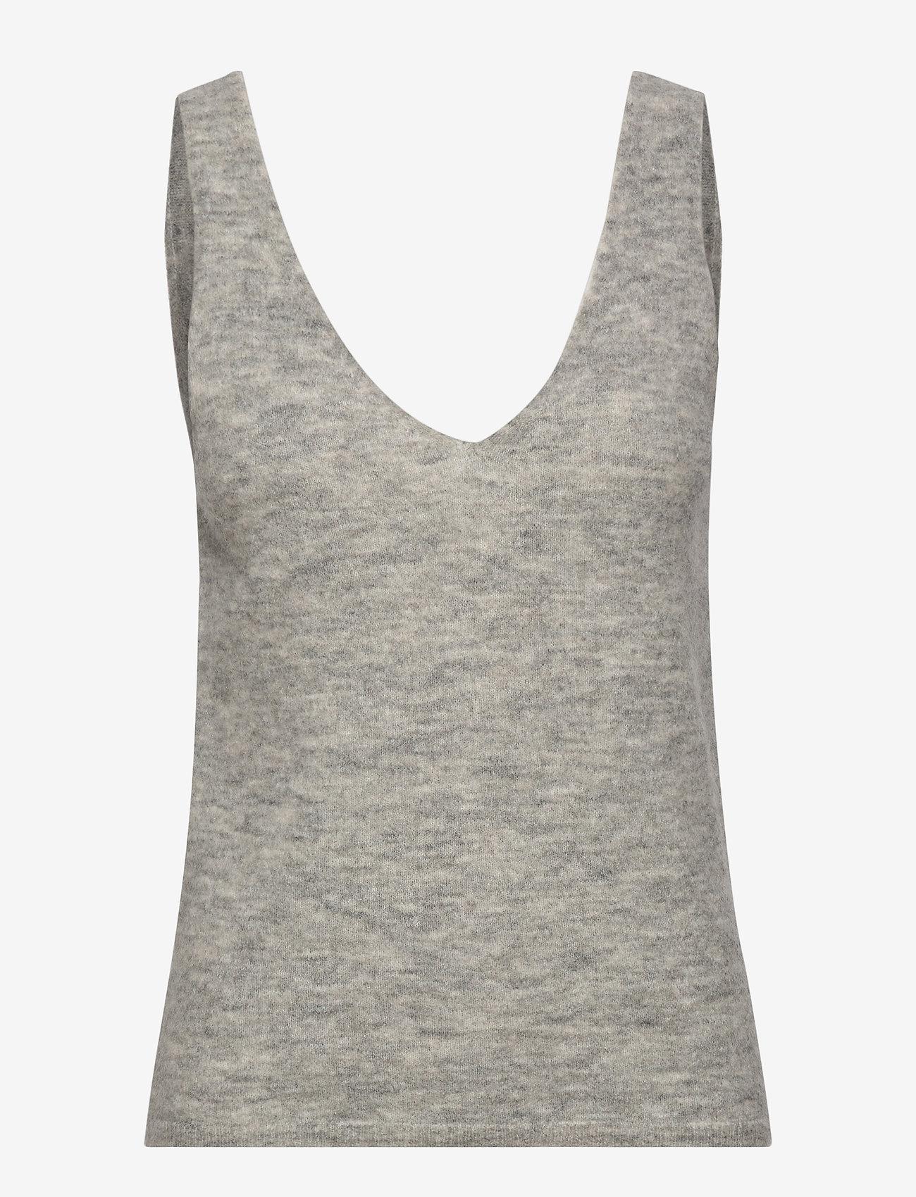 Stylein - ETOILE TOP - tops zonder mouwen - light grey - 1