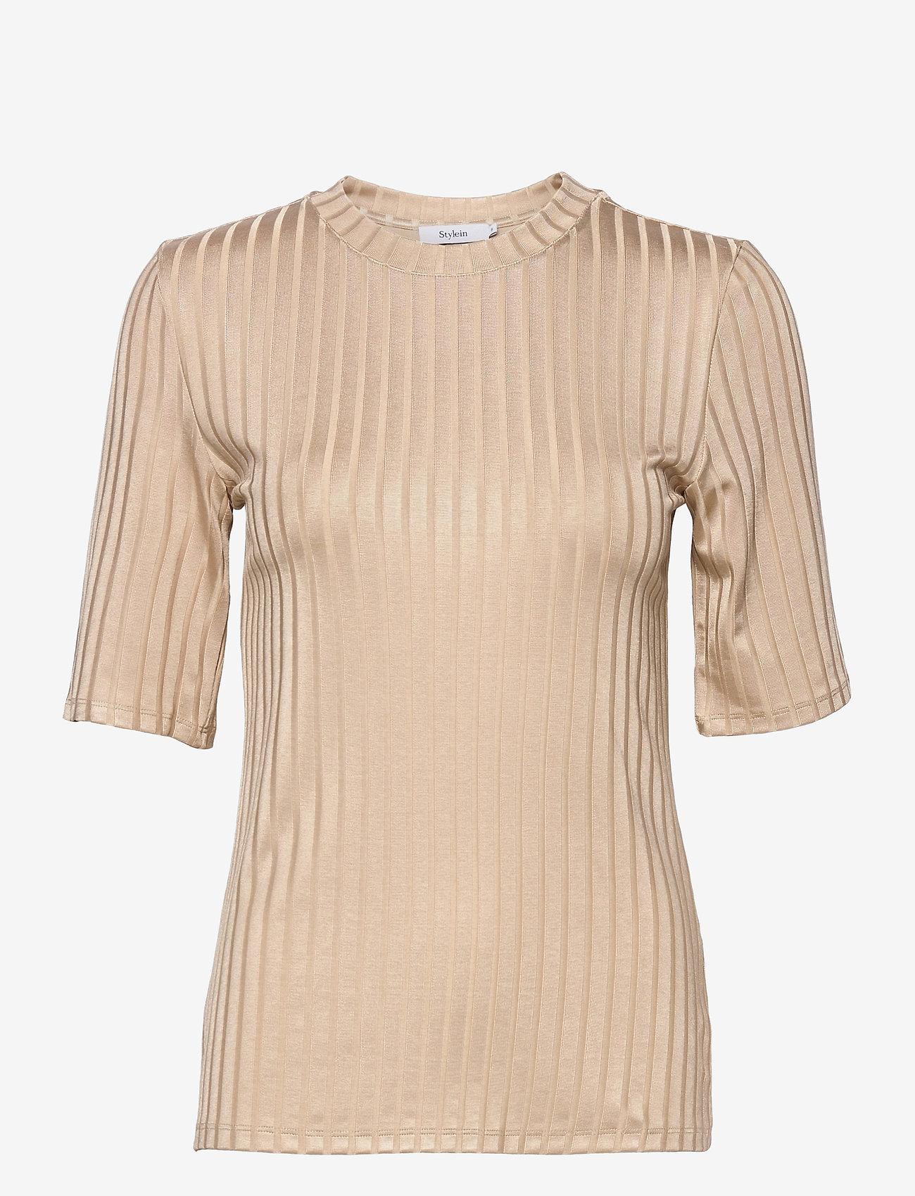 Stylein - PAIR TOP - t-shirts - beige - 1