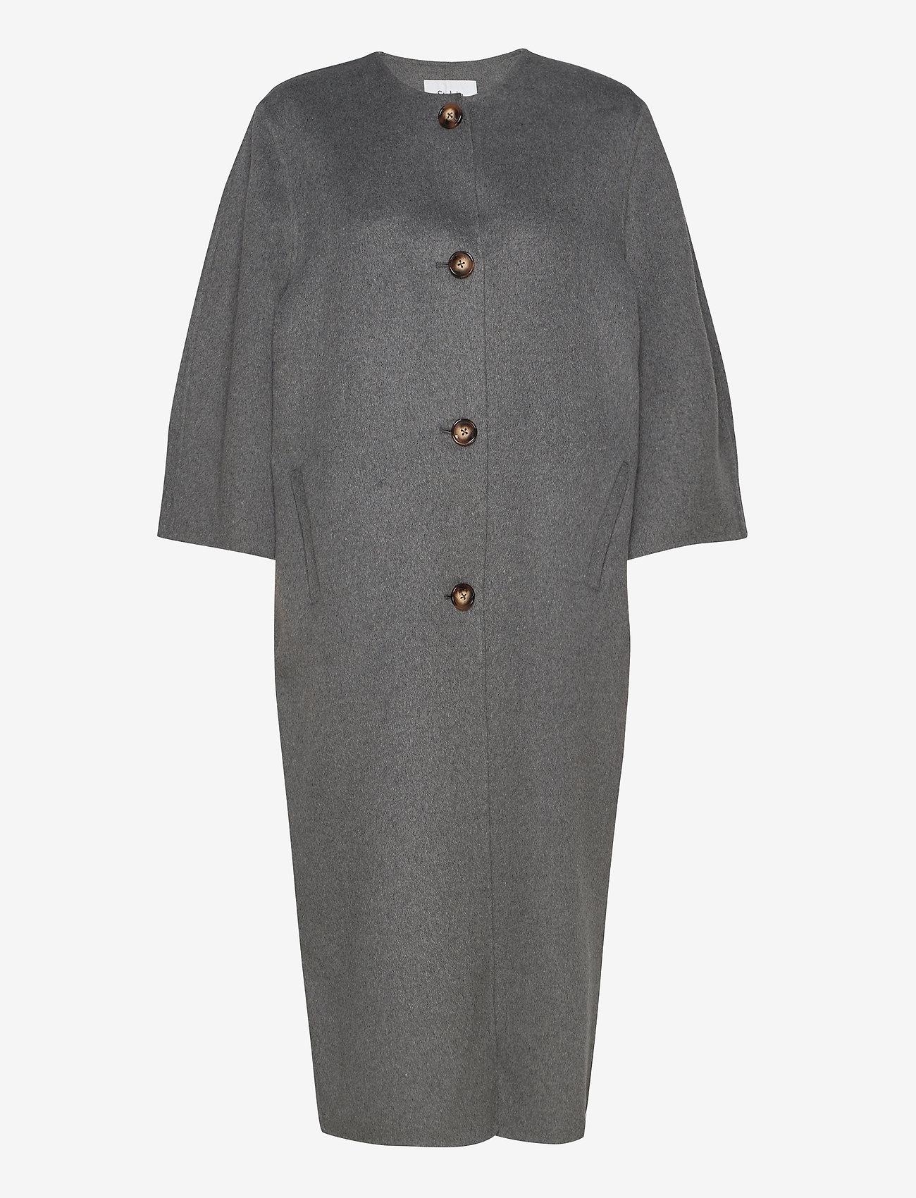 Stylein - THIRA COAT - wollmäntel - grey - 0