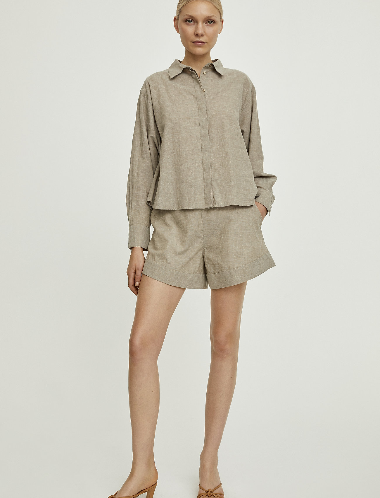 Stylein - BRIONE SHIRT - chemises à manches longues - beige - 0