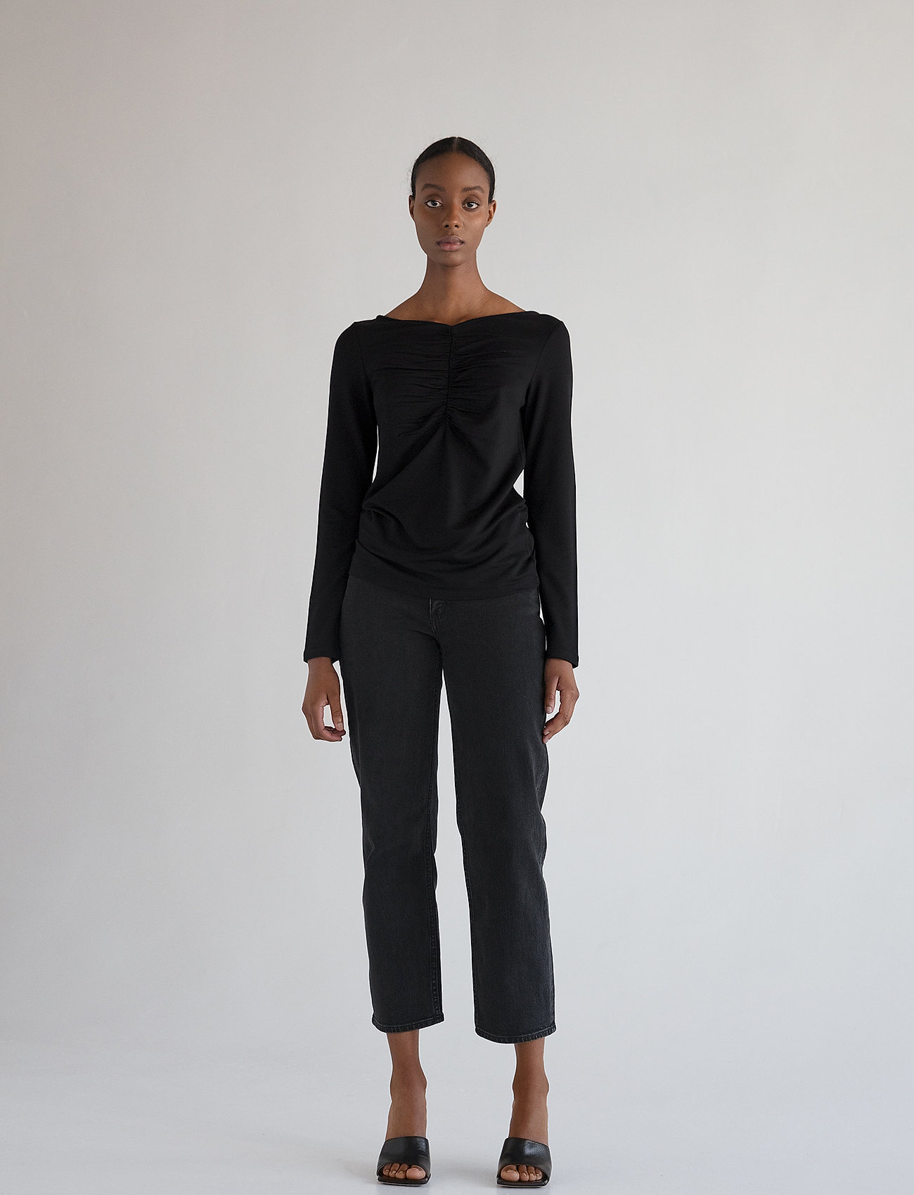 Stylein - CASSIS - langærmede bluser - black - 0