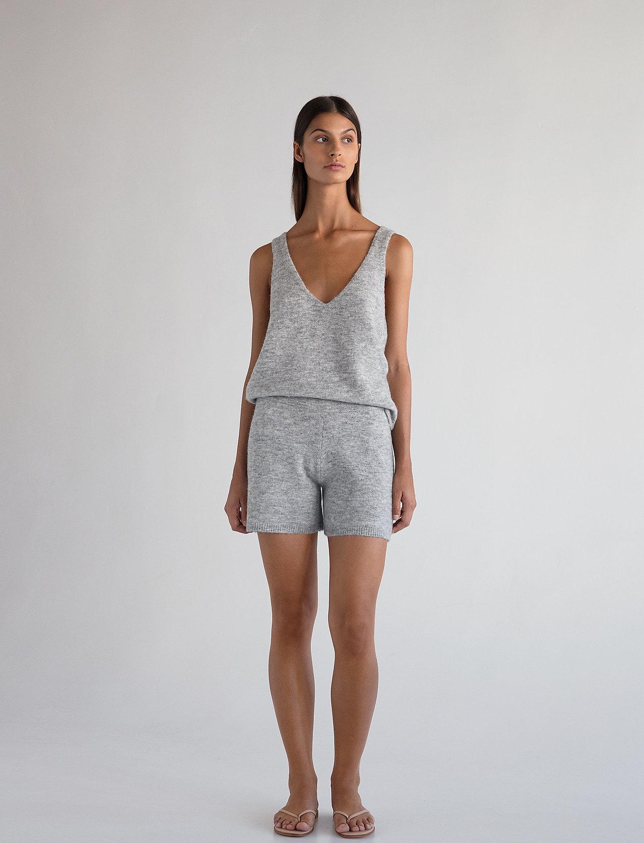 Stylein - ETOILE TOP - tops zonder mouwen - light grey - 0