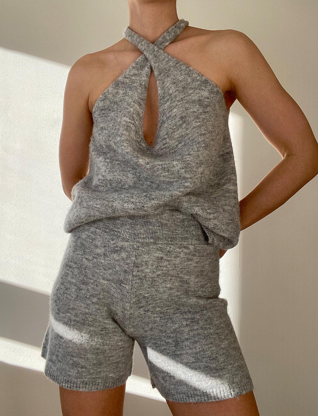 Stylein - ETOILE TOP - tops zonder mouwen - light grey - 4