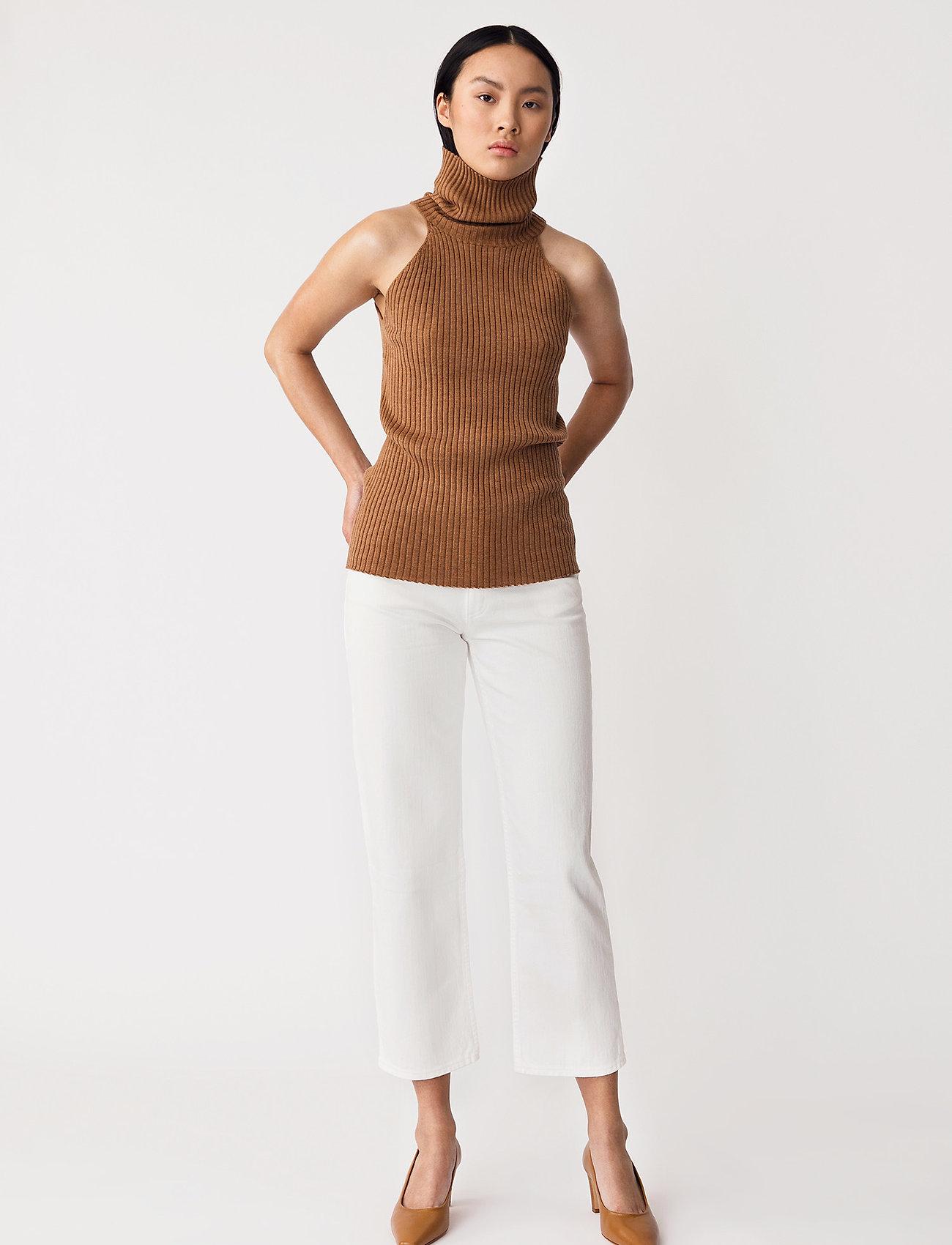 Stylein - REIDA TOP - strikkede toppe - brown - 0