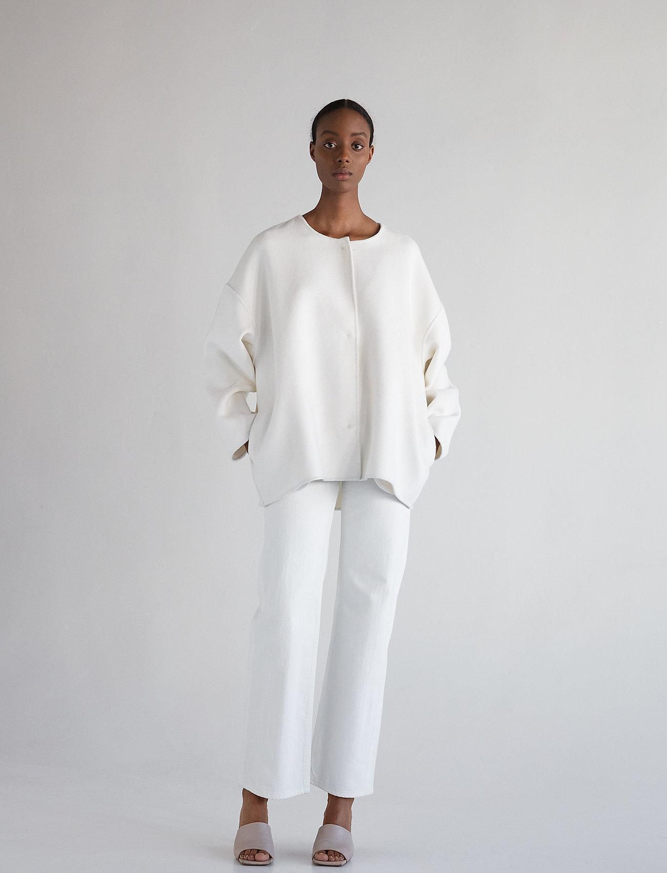 Stylein - TALON - uldjakker - white - 0