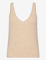 Stylein - ETOILE TOP - gebreide t-shirts - beige - 0