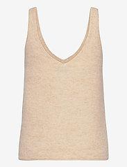 Stylein - ETOILE TOP - gebreide t-shirts - beige - 1