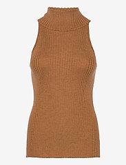 Stylein - REIDA TOP - strikkede toppe - brown - 1