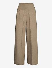 Stylein - SATINE - bukser med brede ben - beige - 1