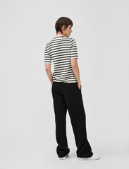 Stylein - BORIS TROUSERS - bikses ar taisnām starām - black - 3