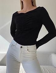Stylein - CASSIS - langærmede bluser - black - 4