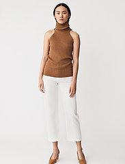 Stylein - REIDA TOP - strikkede toppe - brown - 3