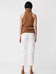 Stylein - REIDA TOP - strikkede toppe - brown - 4