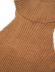 Stylein - REIDA TOP - strikkede toppe - brown - 5