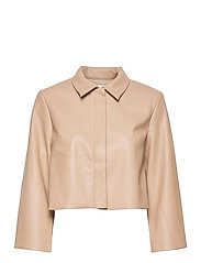 VEREL JACKET - BEIGE