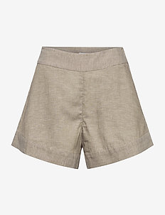 BERNICE SHORTS - casual shorts - beige