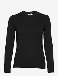 CANVEY TOP - langärmlige tops - black