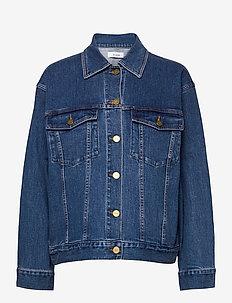 KIRSTEN DENIM JACKET - jeansjacken - denim blue
