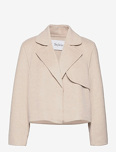 TONI JACKET - wool jackets - beige