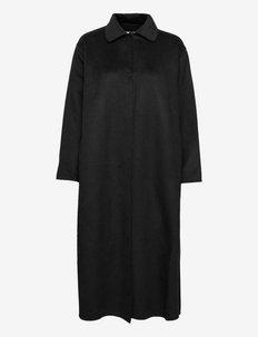 TRILLA COAT - lette frakker - black